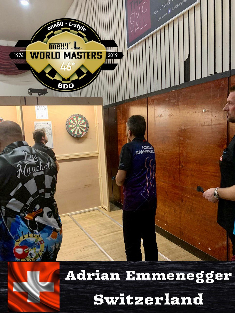 BDO World Masters 2019 Adrian Emmenegger Switzerland