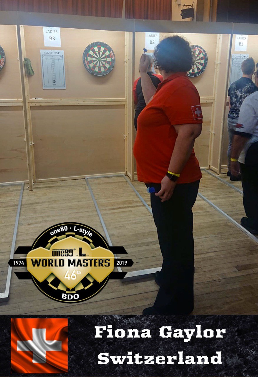 BDO World Masters 2019 Fiona Gaylor Switzerland