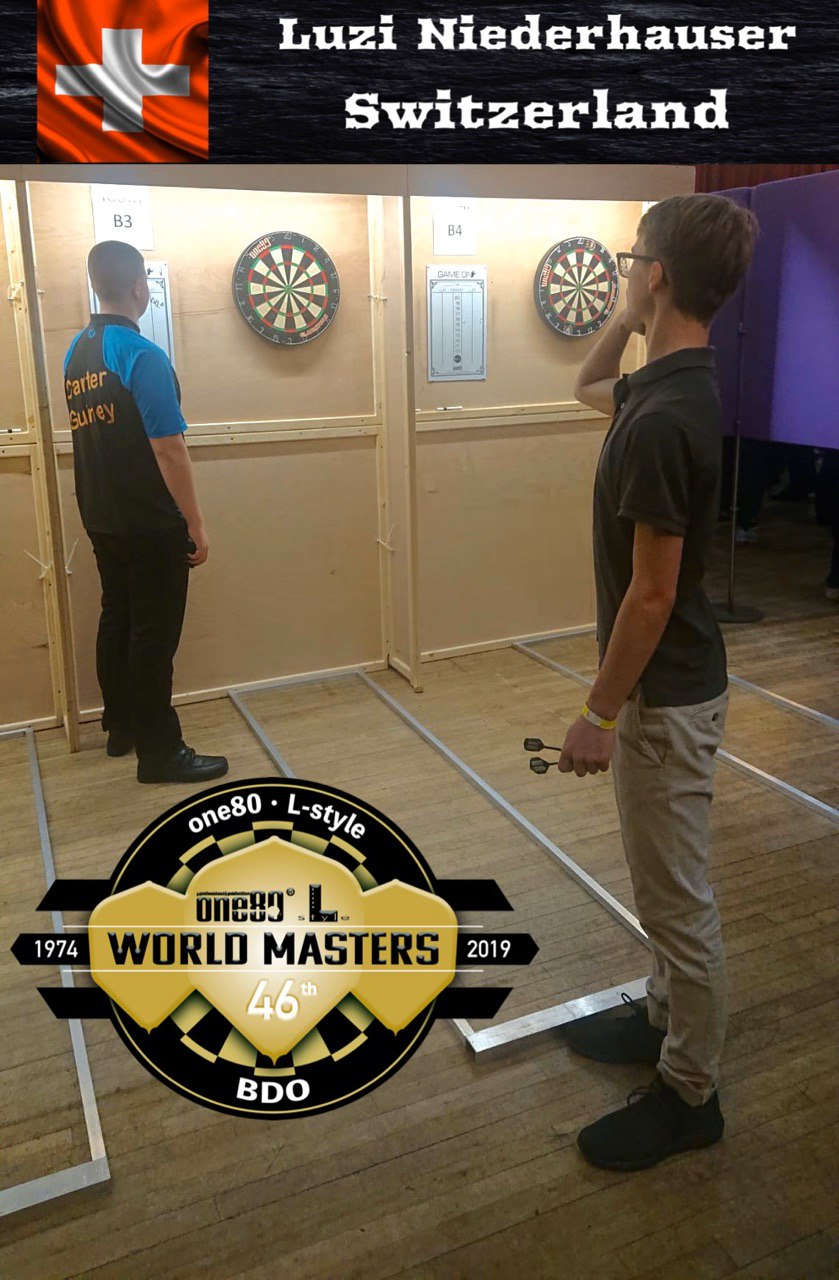 BDO World Masters 2019 Luzi Niederhauser Switzerland