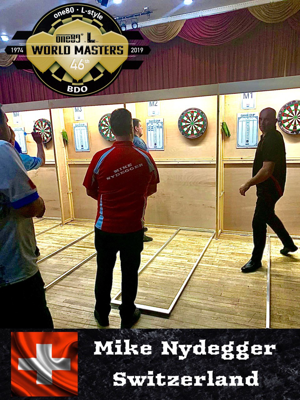 BDO World Masters 2019 Mike Nydegger Switzerland