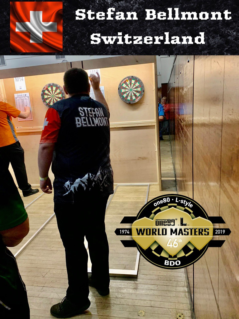 BDO World Masters 2019 Stefan Bellmont Switzerland