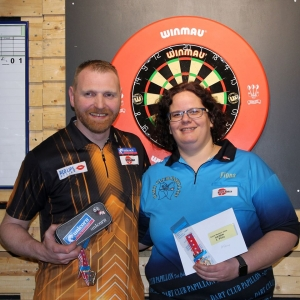 SDA Masters 2020 Champions: Thomas Junghans und Fiona Gaylor