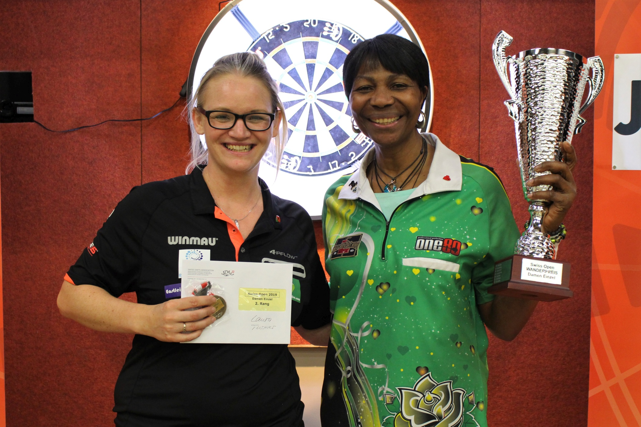 Swiss Open 2019 - Damen Einzel: Deta Hedman - Laura Turner
