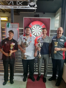 Sissach Open 2020 - Top 4: Andy Bless, Stefan Bellmont, Thomas Bremgartner, Urs Vonrufs